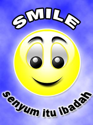 tersenyumlah...